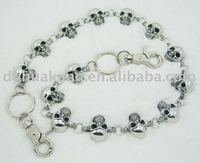 Silver hottest men's waist chain wild west cowboy