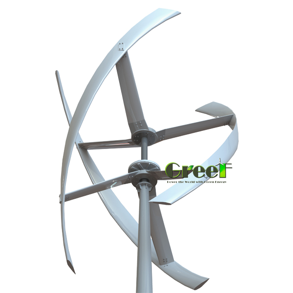5KW Vertical axis <strong>Wind</strong> generator,<strong>5</strong> <strong>blades</strong> vertical <strong>wind</strong> <strong>turbine</strong>