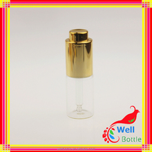 High Quality Plastic Cosmetic Container Acrylic Cosmetic Serum Bottle for Cosmetic Round Acryl