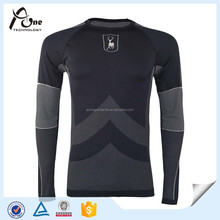 Custom Wholesale Nylon Mens Thermal Underwear Set