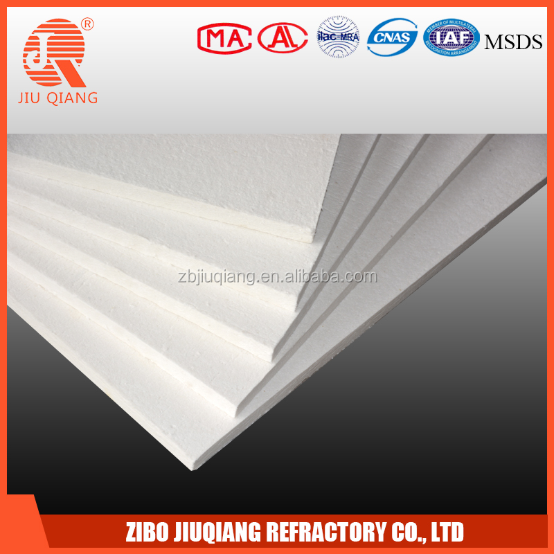 High density heat insulation refractory ceramic fiber board for the heat chamber