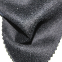 Wholesale High Quality Dark Blue 100% Cashmere Winter Coat Fabric