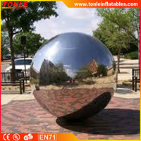 popular party disco bar club show decoration mirror ball, inflatable reflective mirror ball