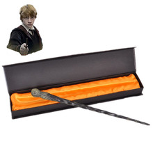 New Hot Sale Quality Deluxe COS Ron Weasley Magic Wand of Harry Potter Magical Wands with Gift Box Packing