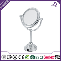 Toy dressing table with mirror mdf Chrome compact vanity cosmeti makeup mirror
