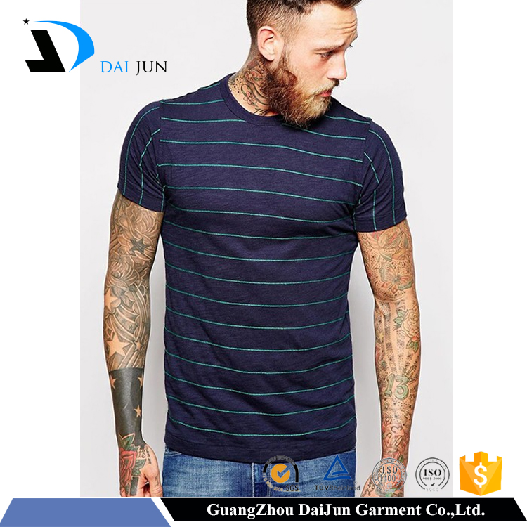 Daijun oem men high quality 50 polyester 38 cotton 12 rayon cheap chinese multi colored t shirt