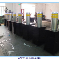 Stainless Stee Hydrualic Road Bollard With