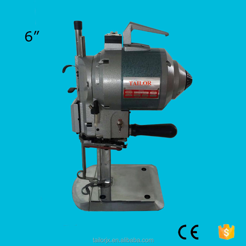 6 inch km straight knife cloth cutting machine