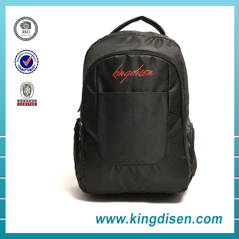 Latest design men polyester laptop computer backpack