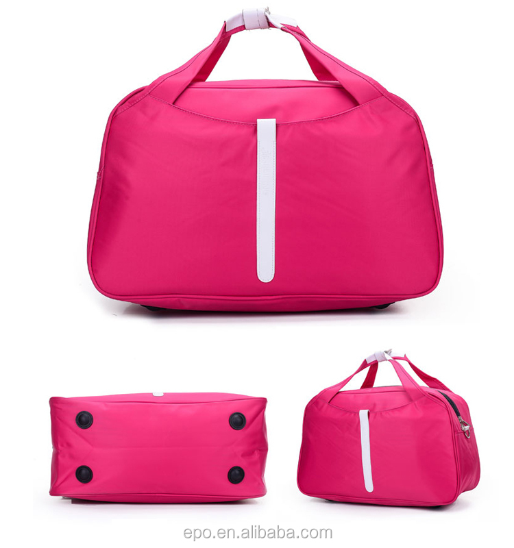 Leisure nylon duffle bag,foldable duffle bag,travel duffle bag
