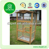 bird cage with outside feeder DXBC006