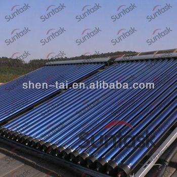 Suntask EN12975 SRCC Certificated Exquisite Solar Thermal Collector