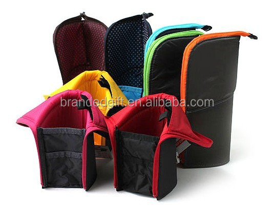 Wholesale Fashion Folding Pencil Case Stand Pencil Case