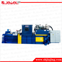 CE certified factory direct sale horizontal hydraulic Waste paper and plastic Automatic baler press machine