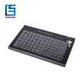 2017 New programmable 78 cherry membrane Supports 3 tracks reading keyboard