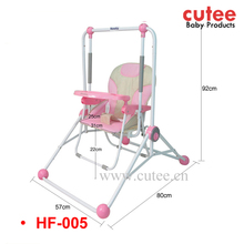 Popular Multifunction High Quality Indoor Outdoor Baby Swing High Chair 3 in 1