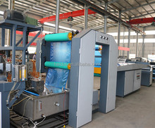 plastic fibrillated pp split film yarn twine rope making machine/plastic baler twine extruding line