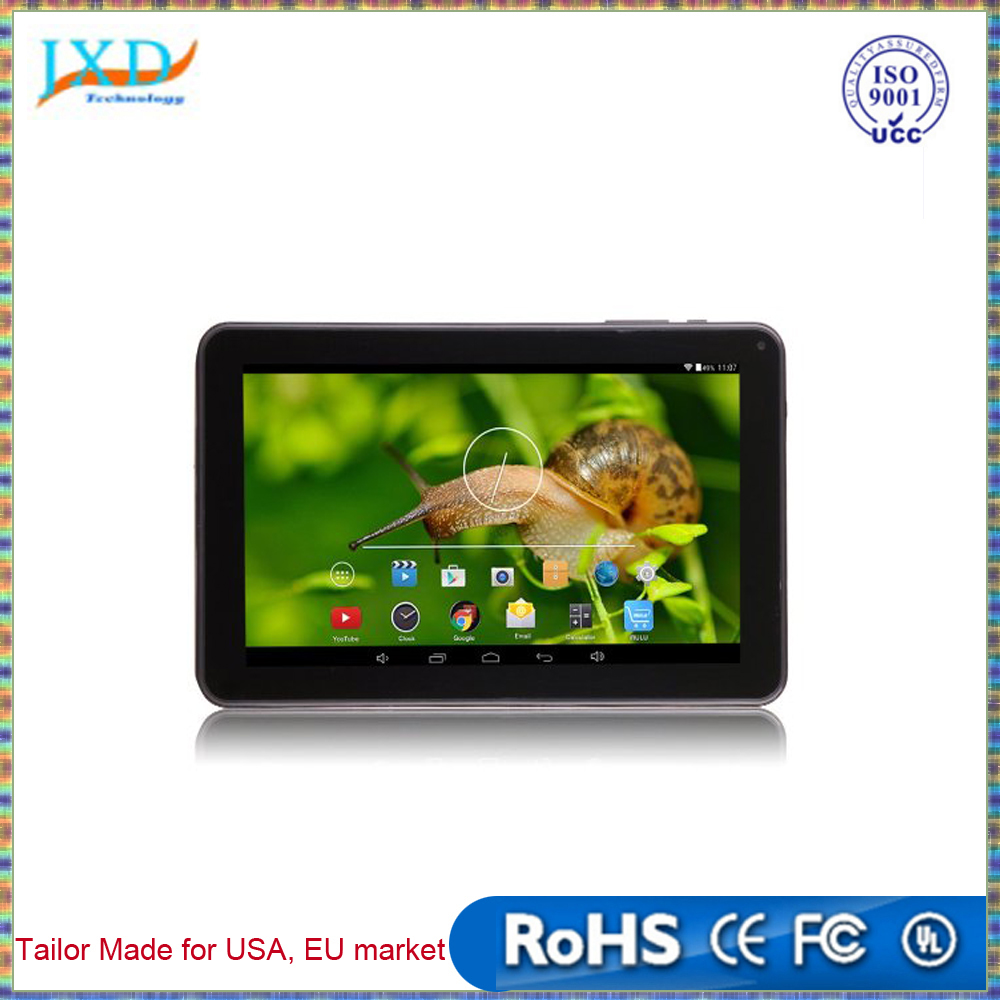 "Allwinner A33 quad core 9"" inch HD capacitive touch screen tablet pc Andriod4.2 dual cameras GPS WIFI tablets"