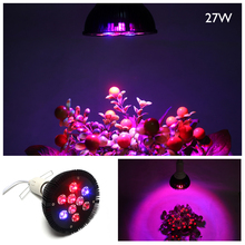 27W Led Grow Light Hydroponic LED Plant Indor Grow Lights LED Bulb LED Growth Lamp