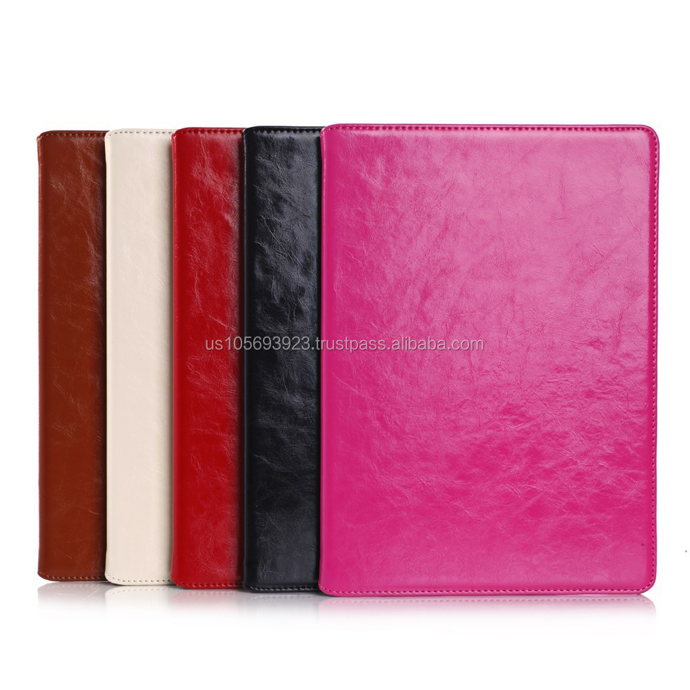 IMPRUE Case Genuine Leather Case For iPad Air 2 With Credit