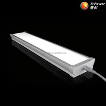 Linkable dimmable waterproof tri proof tube light led linear parking garage luminaires light