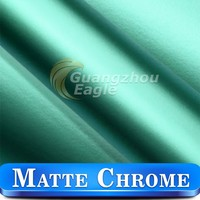 Car Decoration Accessories Matte Chrome Vinyl Wrap Kitchen Cabinet