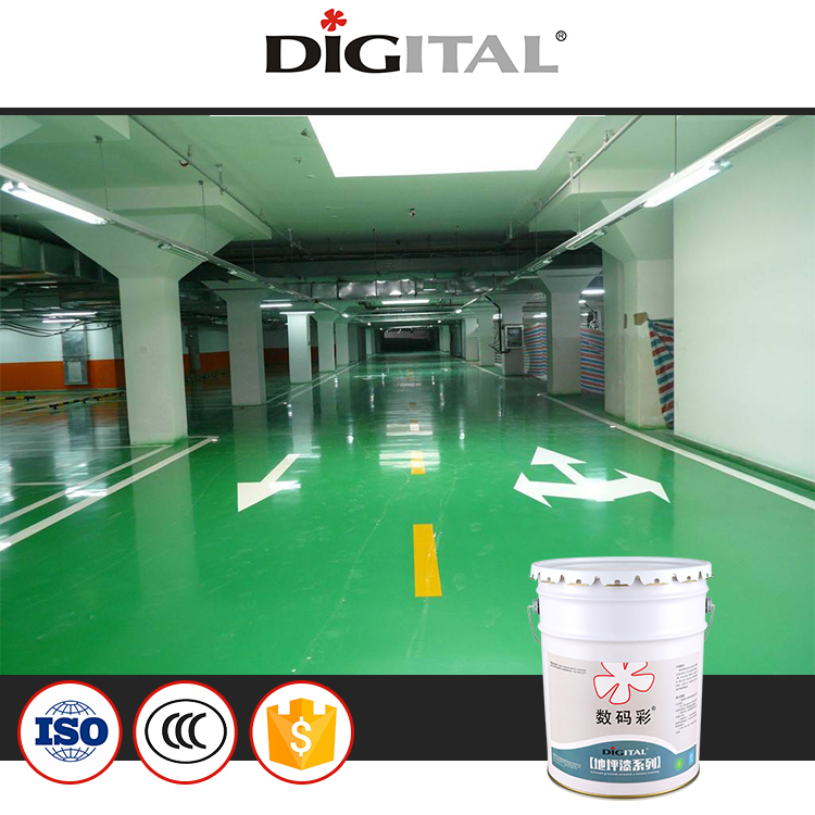 High building epoxy various Color paint epoxy floor coating