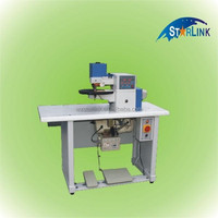Hot sale whenzhou STARLINK high quality desktop hot melt glue machine for leather