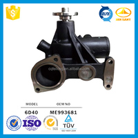 6D40 Water Pump for Mitsubishi Motor,ME993681