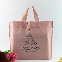 customed china factory newest plastic bag for book clothes shoes