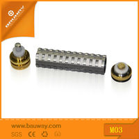 factory wholesale BW M03 mechanical mod with safety protection fuse 18350/18650 battery
