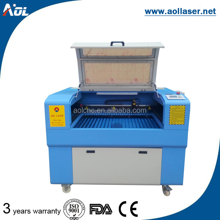 Hot sale co2 laser engraving machine for stamp
