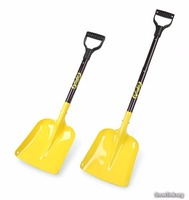 Hot selling long handle snow shovel/avalanche shovel/aluminum snow shovel