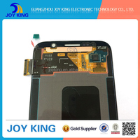 Cell phone spare part LCD Display Original LCD for samsung S6 edge lcd screen touch