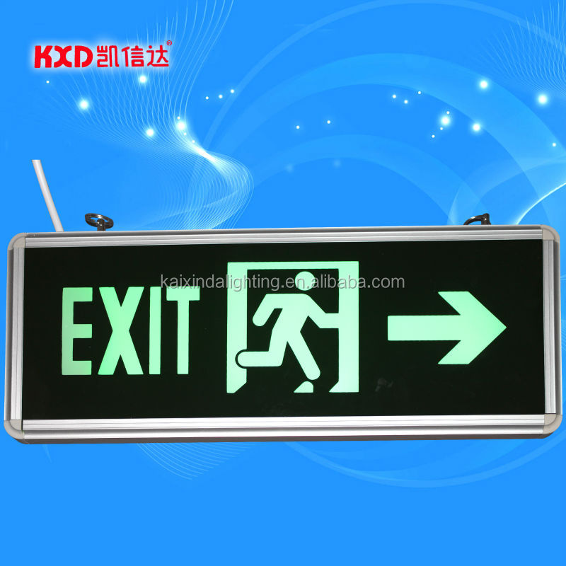 LED emergency exit sign lamp