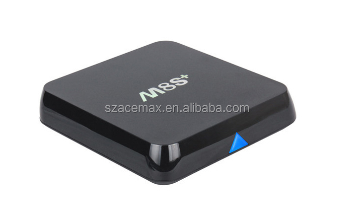 Amlogic S812 Quad Core Google Android 5.1 Android Tv Box m8s plus 2GB/8GB Kodi Bt Dual-band Wifi