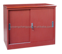 Factory direct sliding door pink rolling filing cabinet lateral