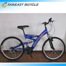 "26"" 18 Speed Dual Suspension Mountain Bike For Sale OEM Manufacturer"