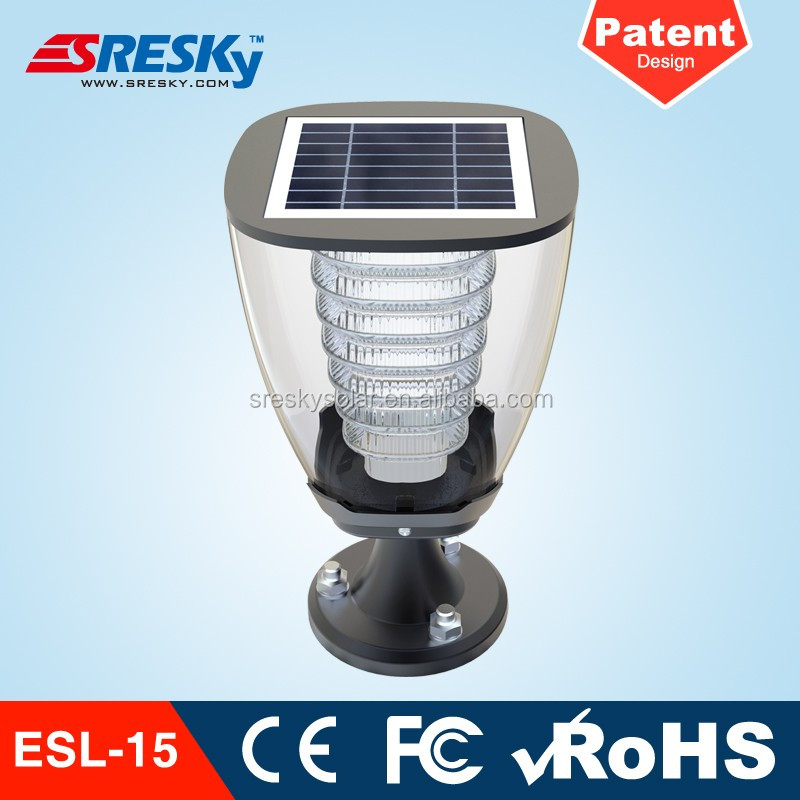 Cemetery Application Decorative Led Solar Light Garden Lighting