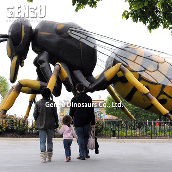 Honeybee Model for plants park decoration