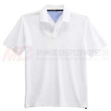 100% Cotton Short Sleeve Mens Polo T-shirt