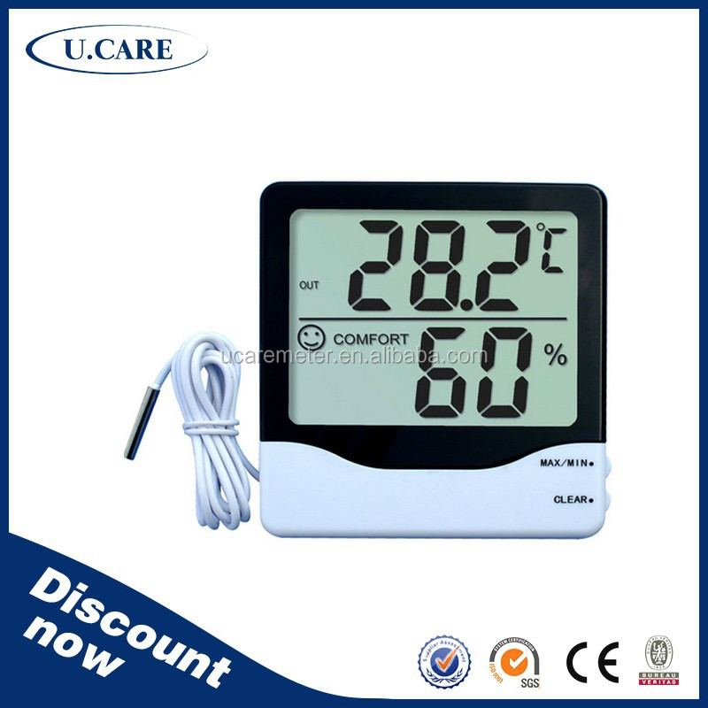 2015 popular design high accuracy electric hygrometer, indoor hygrometer, hygrometer calibration