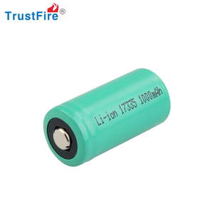 Trustfire flexible button lithium cell CR123 3.0V 1100MAH li-ion battery rechargeable battery lithium ion