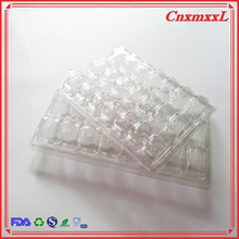 PET macaron clamshell blister packaging plastic macaron boxes