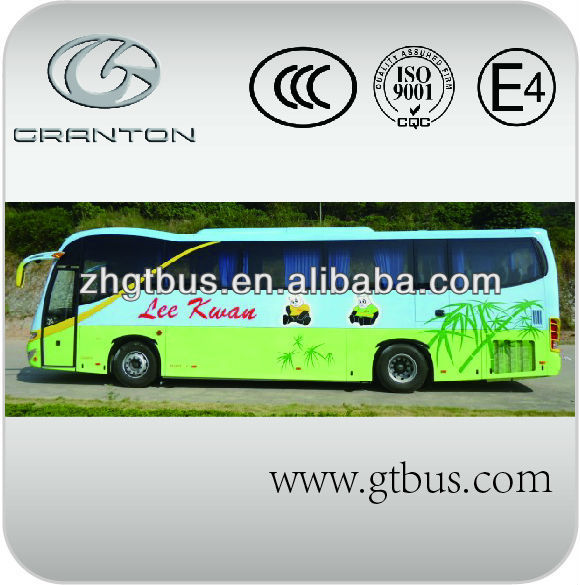 50 seats bus diesel coach 12m cargo in intercity bus on sale from China