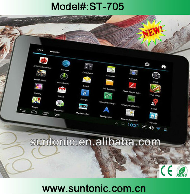 Low price and high quality 7 inch tablet pc with dual-core,1.5Ghz processor