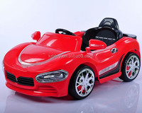 China supplier LED light and music electric toy car strong electric car for kids ride on battery kid car