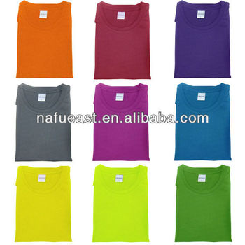 Blank dry fit t shirt with more color