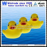 Yellow rubber toy/yellow duck baby toy gift