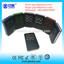 JH-TX278 multi frequency auto scan RF wireless universal rolling code remote control for garage door